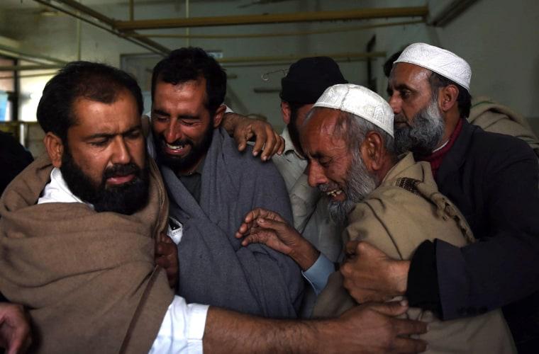 Image: Mardan blast