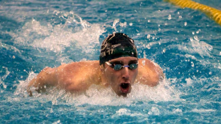 Dartmouth College swimme Tate Ramsden