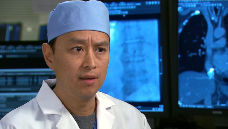 Dr. William Kuo of Stanford Health Care's IVC Filter Clinic.