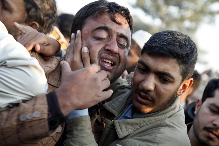 Image: 22 dead more than 30 wounded in suicide attack on office