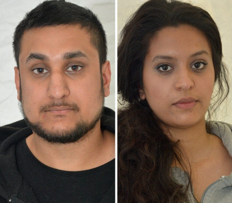 Mohammed Rehman and his wife Sana Ahmed Khan were convicted in London on Dec. 29 of preparing for acts of terrorism.