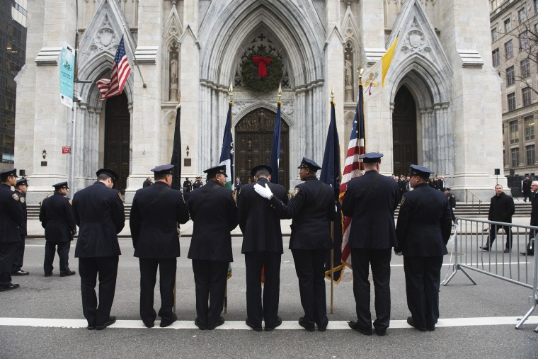 Image: Funeral of NYPD Officer Joseph Lemm Killed in Afgahnistan