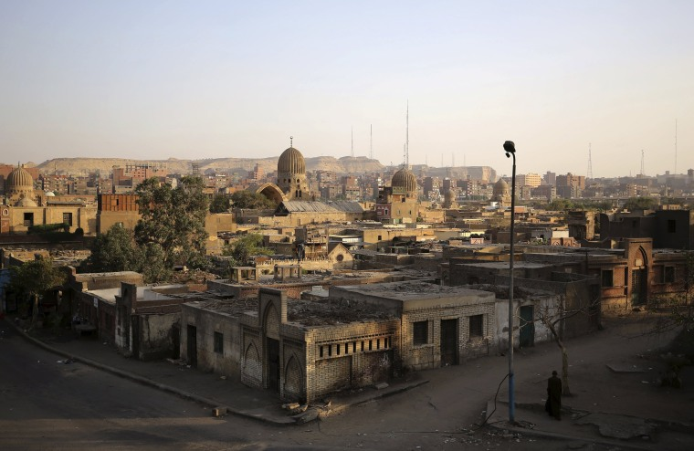 Image: The Wider Image: Living in Cairo's City of the Dead