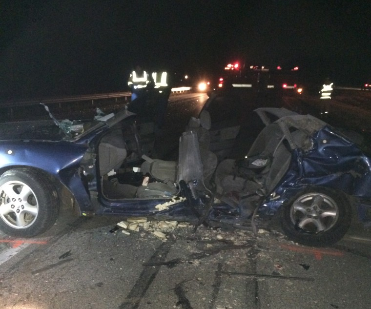 Image: Photo from the crash scene