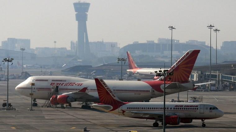 Image: Aeroplane technician killed by engine in Mumbai