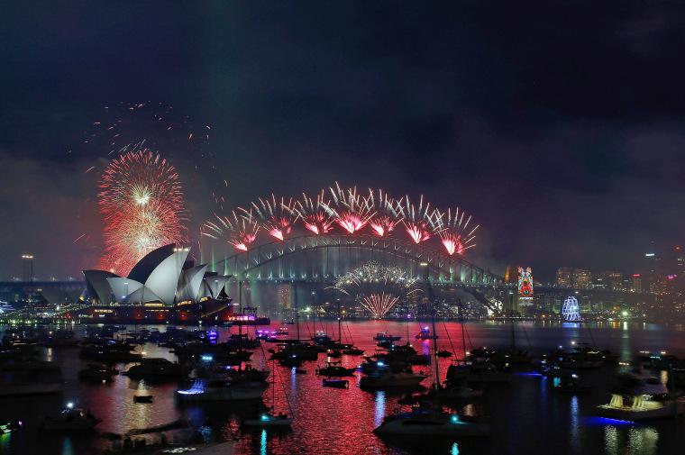 Image: City Of Sydney Celebrates New Year's Eve 2015
