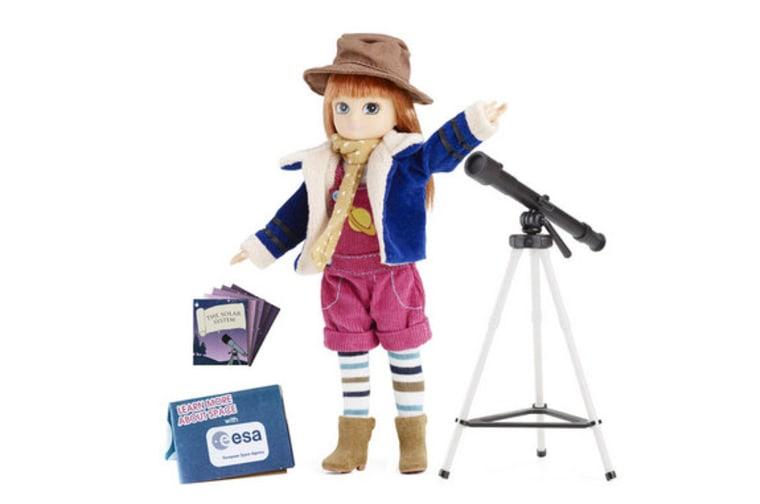 Image: Stargazer Lottie doll