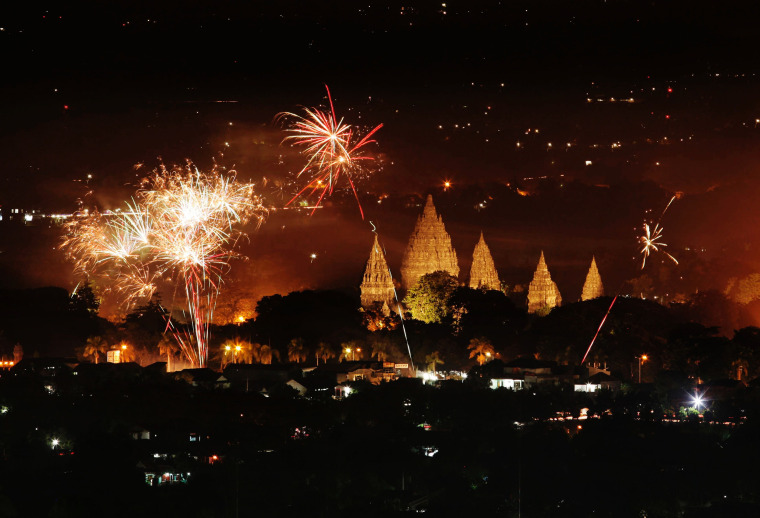 Image: New Year's in Yogyakarta, Indonesia