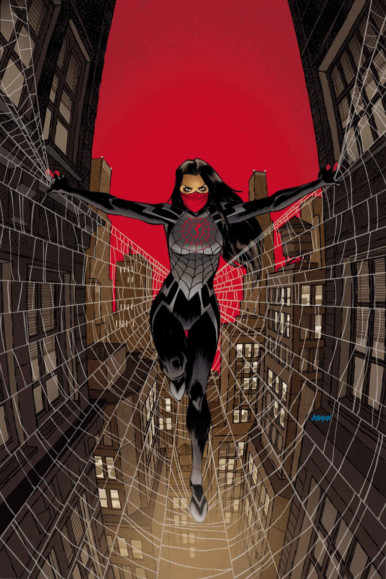 """Marvel's new comic book, \""""Silk,\"""" tells the story of Cindy Moon and her crime-fighting alter ego."""