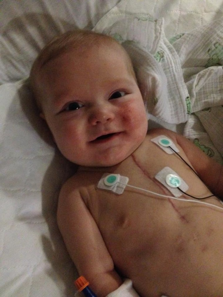 """Carter, you are a """"heart hero"""" just like my grandson Tanner! Be proud that you've been so strong and such a fighter!"""