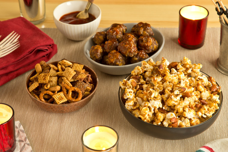 Appetizers for New Year's Eve or Superbowl parties
