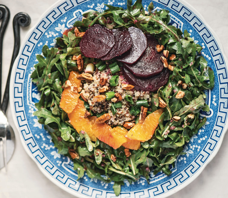 Quinoa and Beet Salad