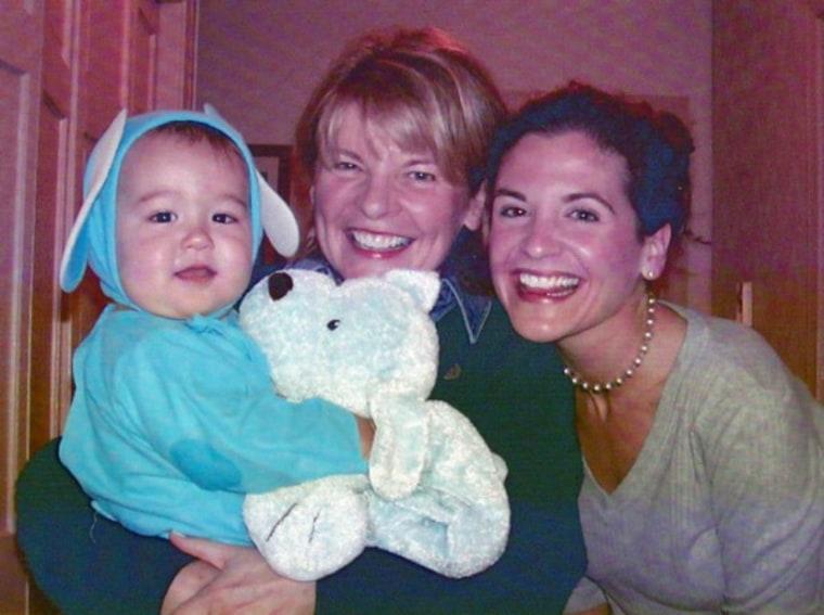 Glennon Doyle Melton with mom and baby