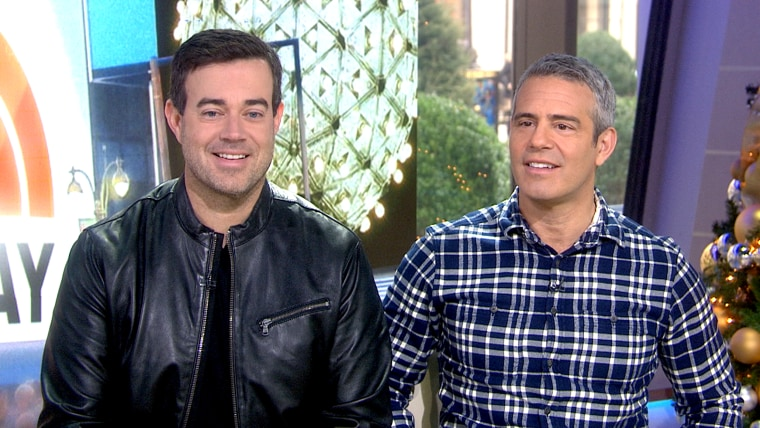 Carson Daly and Andy Cohen