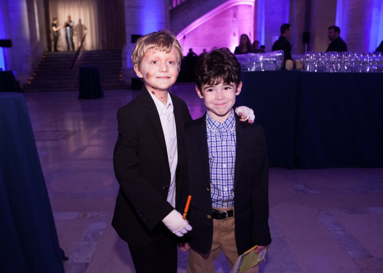 Michael Fullmer and Jackson Silver at a November fundraising gala.