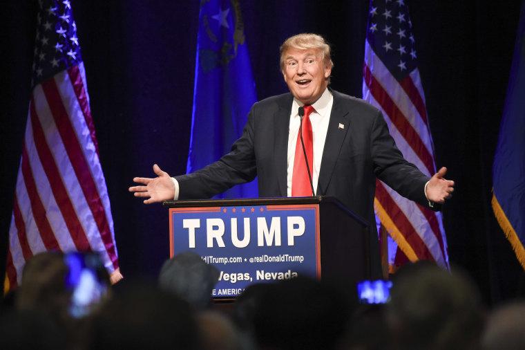 Image: US-VOTE-REPUBLICANS-TRUMP-CAMPAIGN-MEDIA-MUSLIMS-FILES