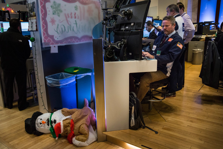 Image: Markets Dive At Open Of First Trading Day Of 2016