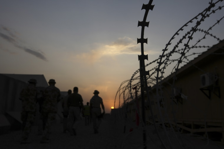 Image: Camp Leatherneck in Helmand province