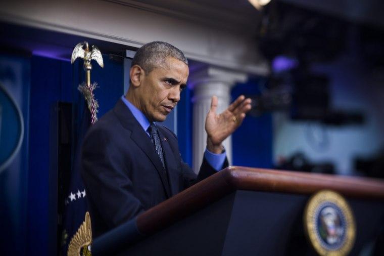 Image: President Obama Holds Press Conference