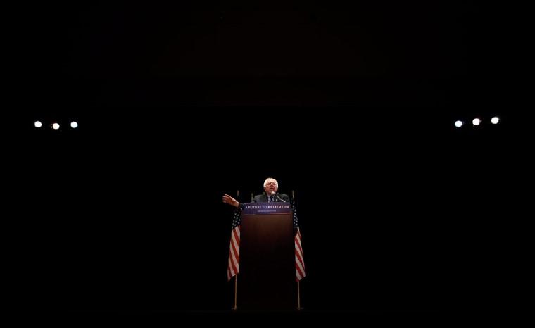 Image: Sen. Bernie Sanders Speaks in New York