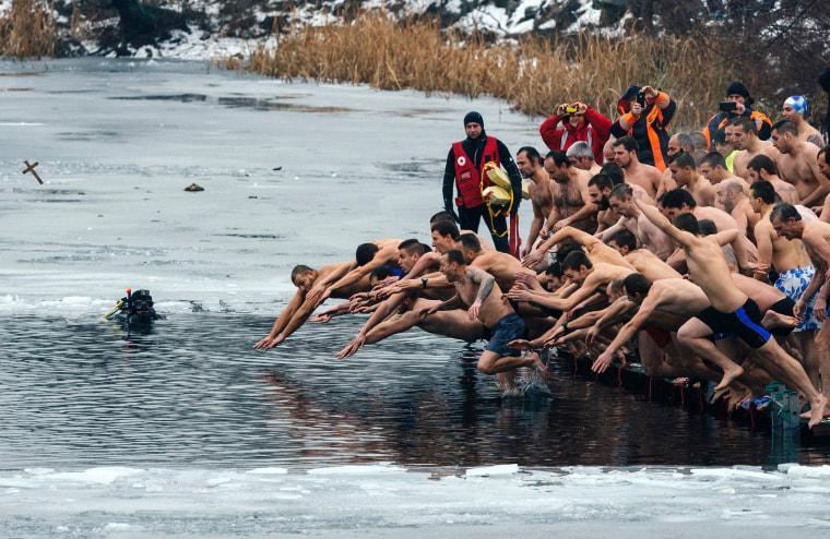 Image: TOPSHOT-BULGARIA-RELIGION-ORTHODOX-EPHIPHANY
