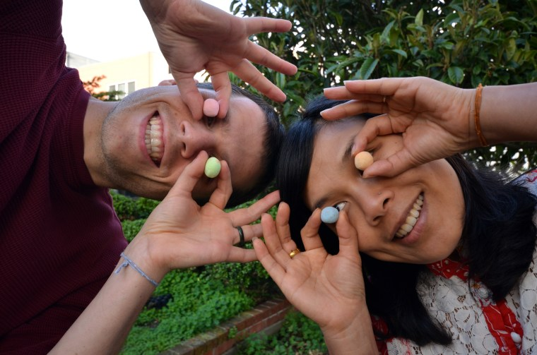 Ei Ei Khin and Christopher Burley want to help grow one billion wildflowers with Seedles, prepackaged balls of wildflower seeds, compost, and clay ready for the outside world.