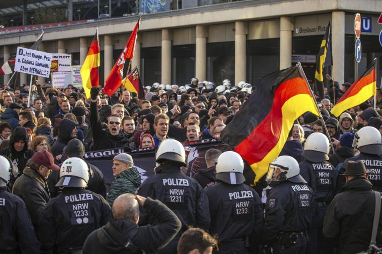 Image: PEGIDA Protests NYE Cologne Sex Attacks