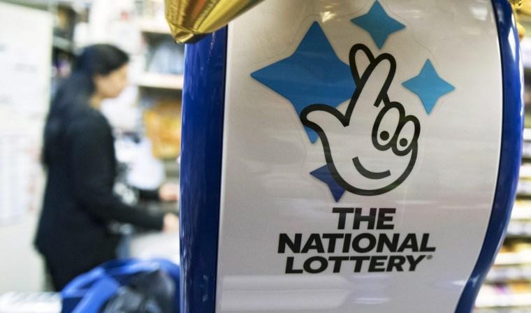 Image: UK National Lottery record jackpot