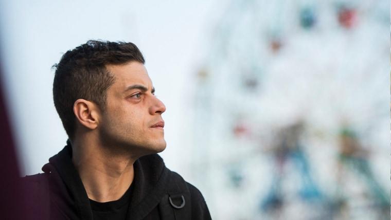 Image: Rami Malek starred in Mr.Robot