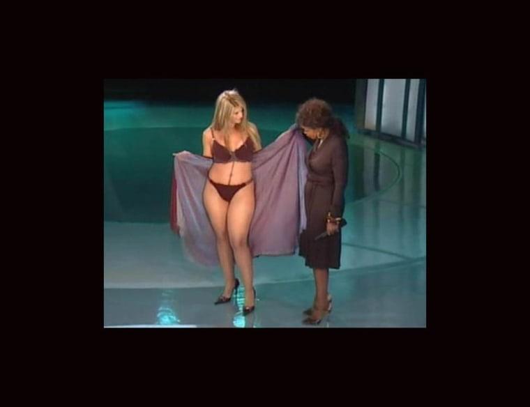 kirstie alley in bikini on opera
