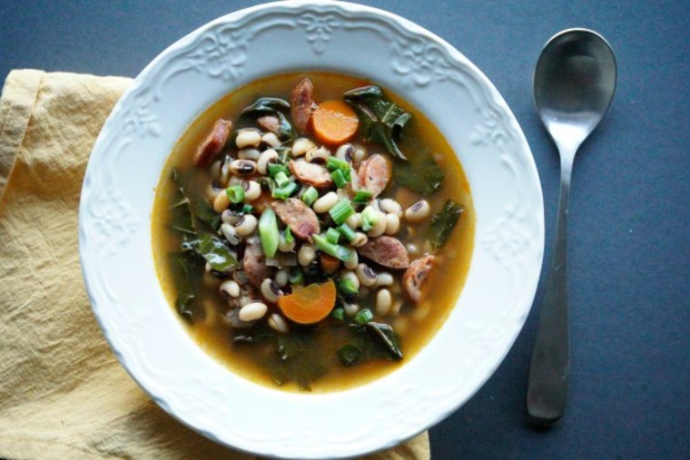 Black-eyed pea soup recipe by TODAY Food Club member Joanie Simon
