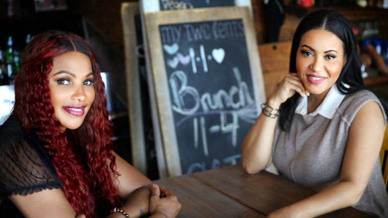 Rap duo Salt-N-Pepa in their new Cooking Channel show