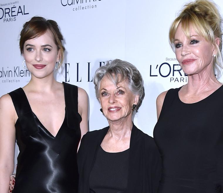 Dakota Johnson, Tippi Hedren, Melanie Griffith