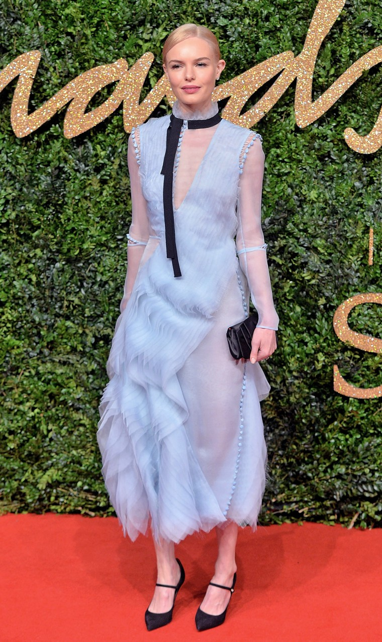 Kate Bosworth at British Fashion Awards