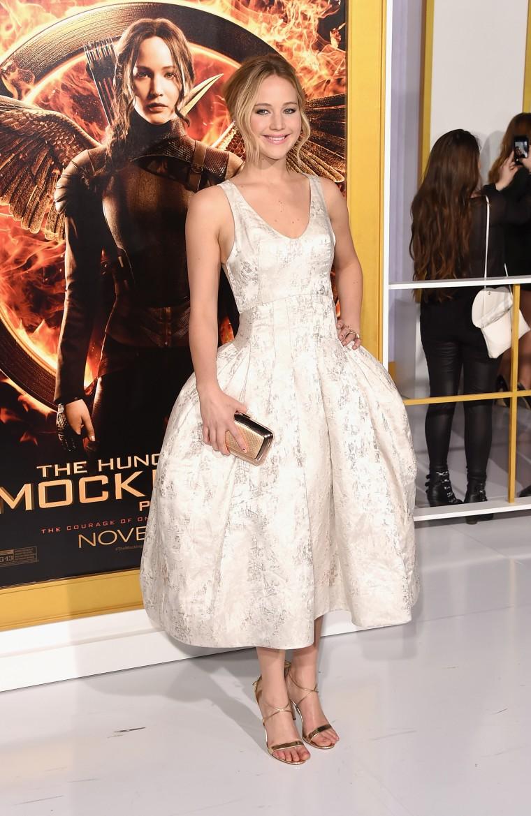 "Premiere Of Lionsgate's \""The Hunger Games: Mockingjay - Part 1\"" - Arrivals"