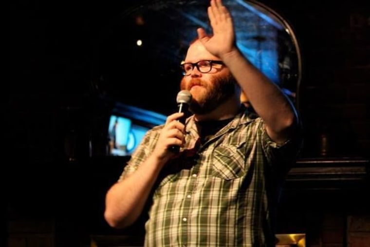 Andy Boyle, standup comedian, lost 75 pounds after he quit drinking