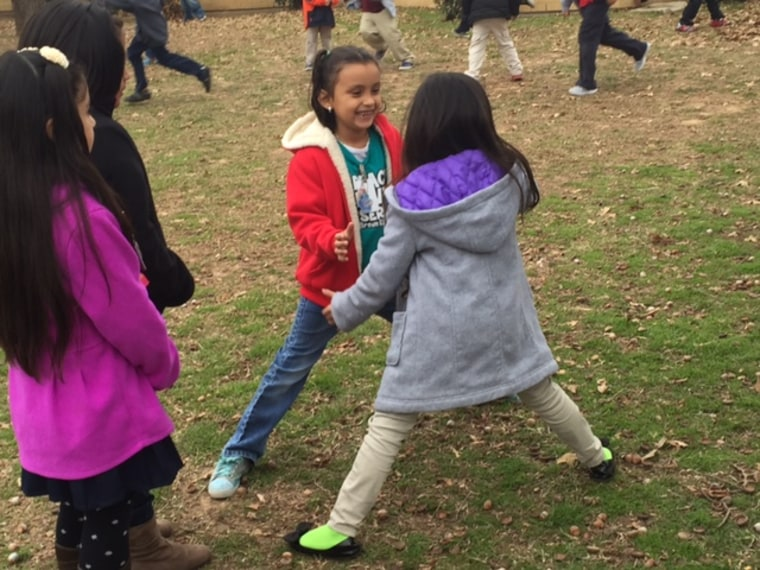 """Socializing is an important part of play. The American Academy of Pediatrics calls recess """"a crucial and necessary component of a child's development."""""""