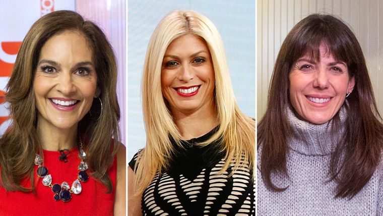 Joy Bauer, Jill Martin, and Jean Chatzky for StartTODAY