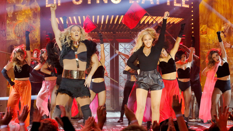 Channing Tatum and Beyonce perform on SPIKE's Lip Sync Battle