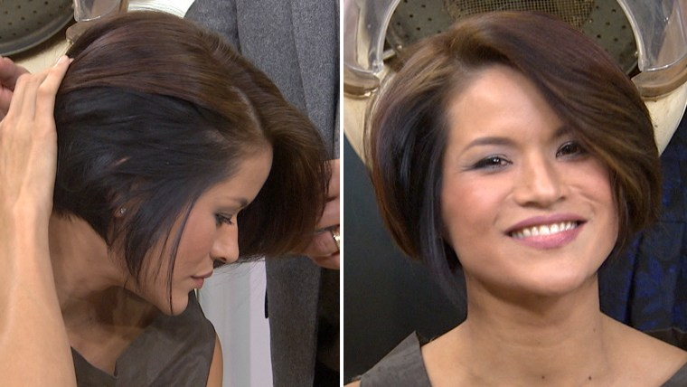 Color shading hair trend