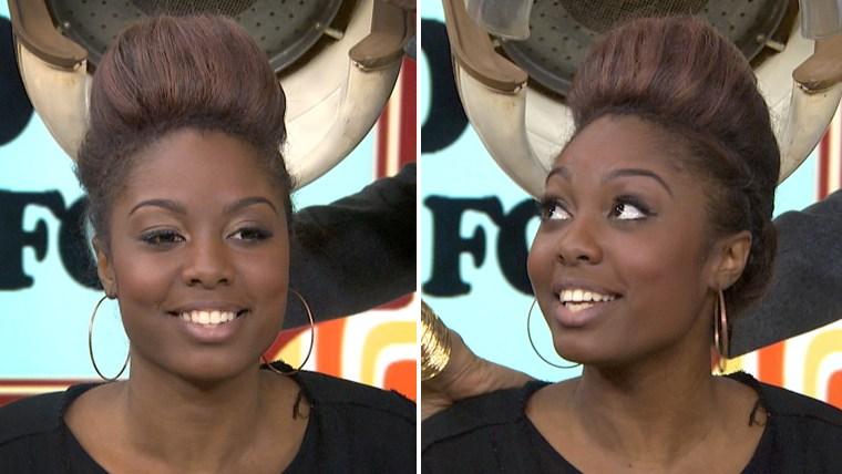 Mohawk highlights hair trend