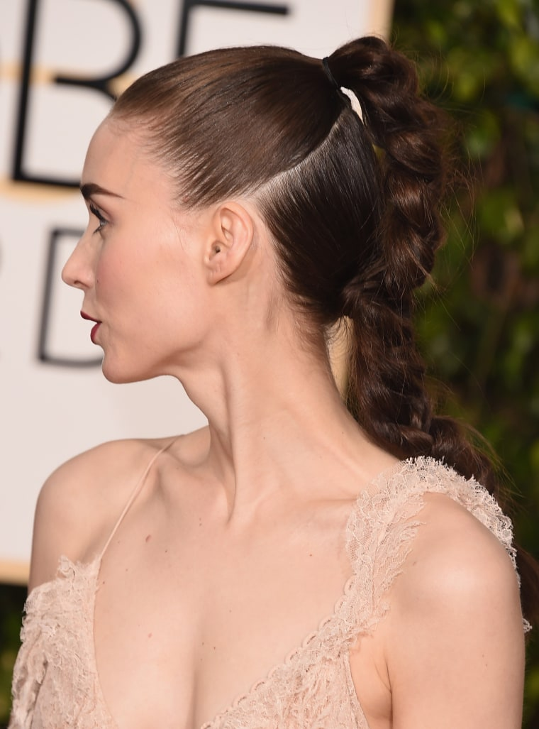 Rooney Mara attends the 73rd Annual Golden Globe Awards