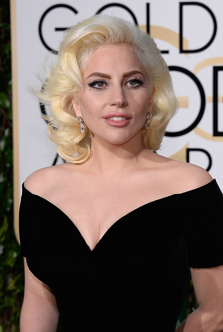 Lady Gaga arrives to the 73rd Annual Golden Globe Awards