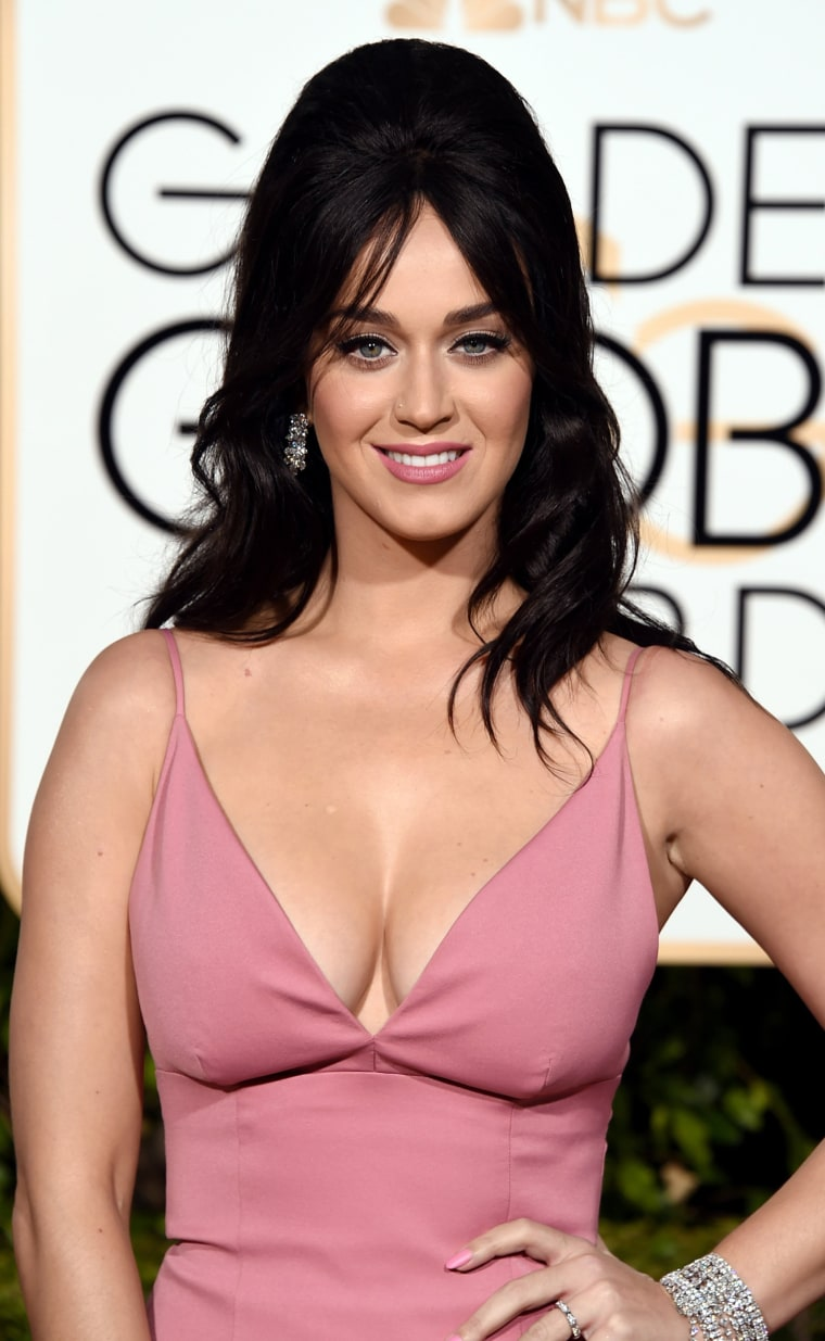 Katy Perry attends the 73rd Annual Golden Globe Awards