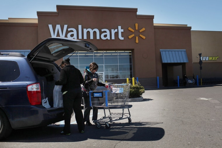 Wal-Mart will test a new unlimited shipping service for online shoppers that will be priced below Amazon's $99 per year Prime service.