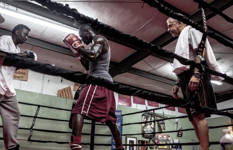 "WBC Heavyweight Champion Deontay Wilder, known as the ""Brozne Bomber"" grew up in Tuscaloosa Alabama."