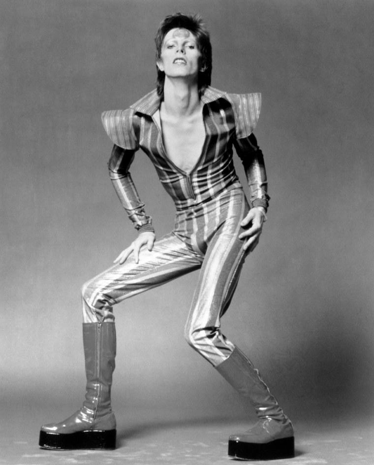 """Image: David Bowie As """"Ziggy Stardust"""""""
