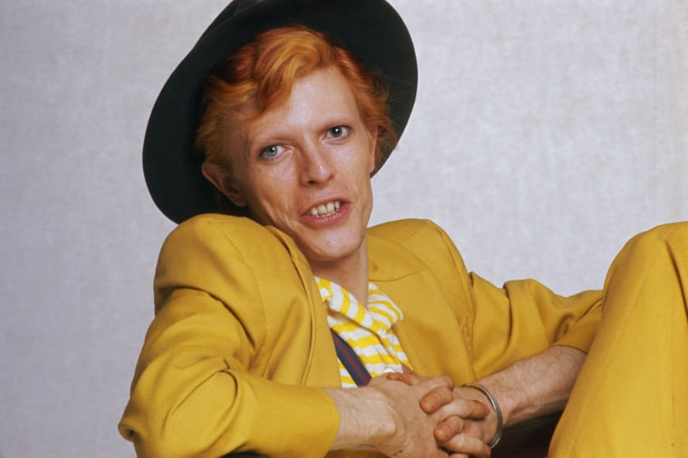 Image: English singer, musician and actor David Bowie