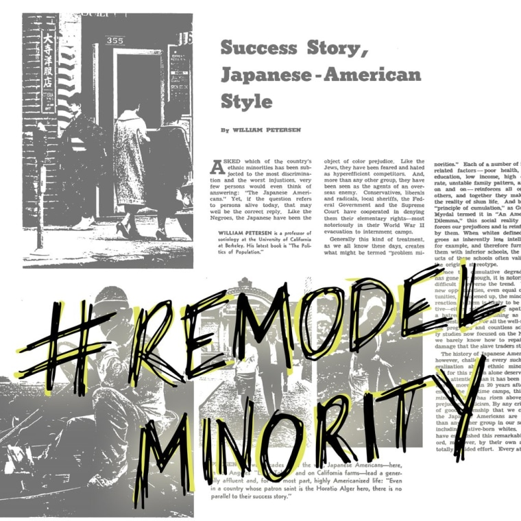 "The Smithsonian Asian Pacific American Center's #ReModelMinority campaign aims to encourage a discussion about how Asian Americans are more than the ""model minority."""