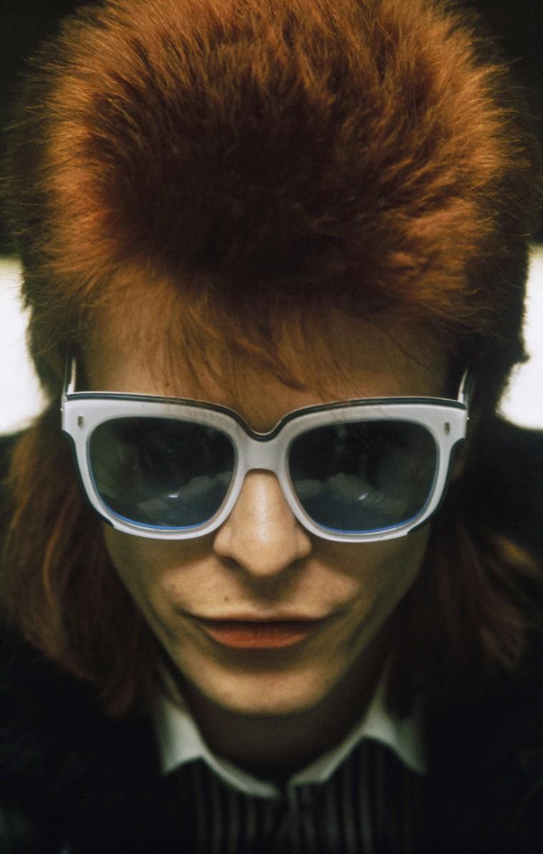 Image: Bowie circa 1974.